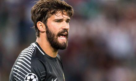 """""""Alisson é o Messi dos guardiões"""" afirma ex-treinador da Roma"""