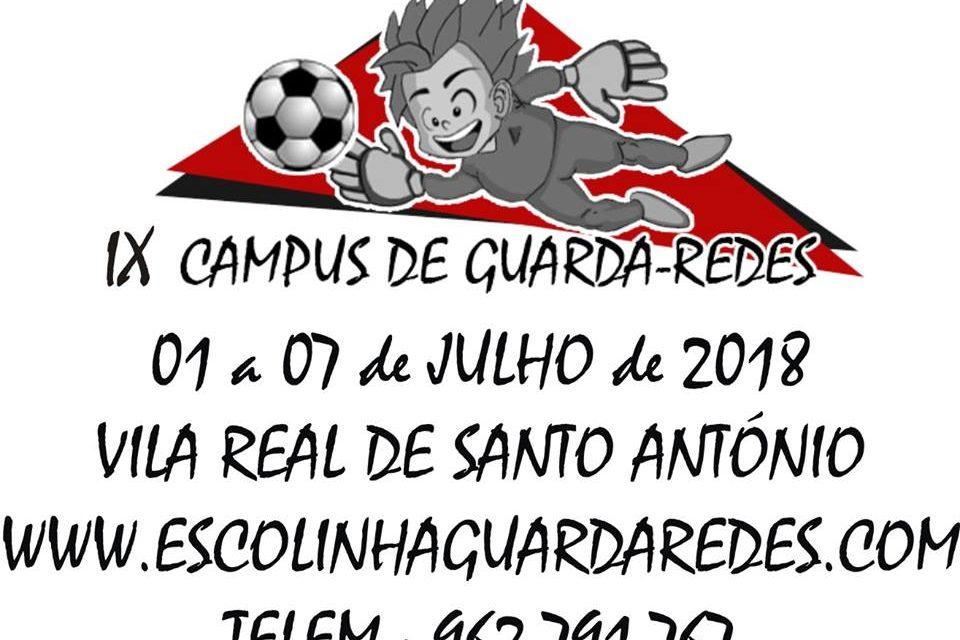 Campus e Clinic 2018 – Escolinha GR Luís Rodrigues (1-7 Julho)