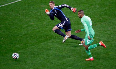 """""""Eu não sinto medo quando saio fora da área"""", Manuel Neuer sobre o risco na baliza"""