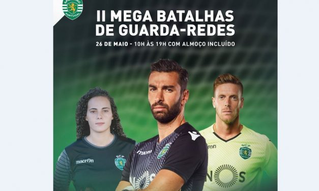 Inscrições abertas para a 2º Mega Batalha de GR do Sporting CP!