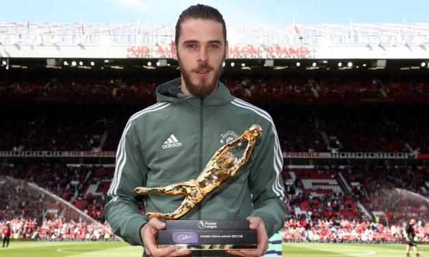 """O vencedor da """"Golden Glove"""" em Inglaterra é… De Gea!"""