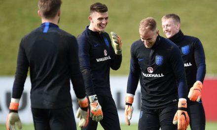 O rejuvenescimento da baliza inglesa para o Mundial'18 … e Joe Hart não conta nessa equação
