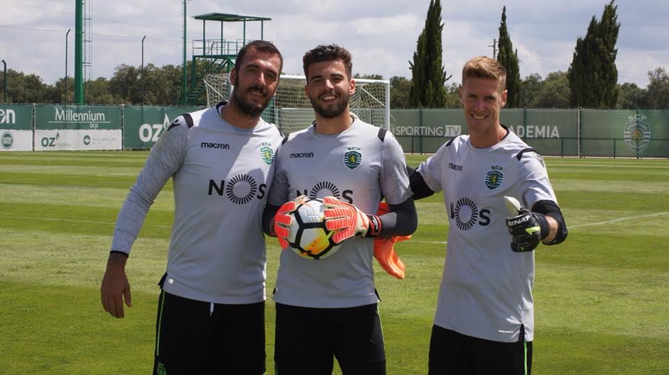 A nova – até ver – baliza do Sporting CP: Viviano e Salin
