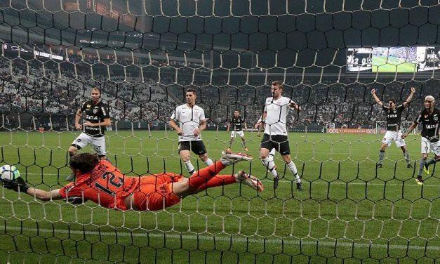 A brilhante exibição de Cássio, pós-Mundial, contra o Botafogo! (video)