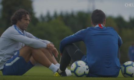 O treino específico no Chelsea: com Kepa, Bulka… e Hilário! (video)