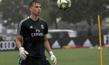 A promessa: 30 minutos de qualidade de Andryi Lunin pelo Real Madrid contra a Juventus (video)