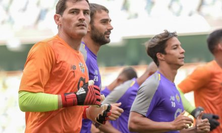 Um duelo curioso entre Casillas e Beunardeau na Supertaça Portugal 18/19 (video)