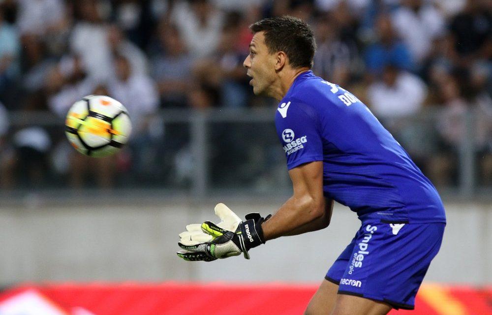 Douglas volta à baliza do Vitória SC e, mesmo com a derrota, quebra um recorde pessoal em Portugal