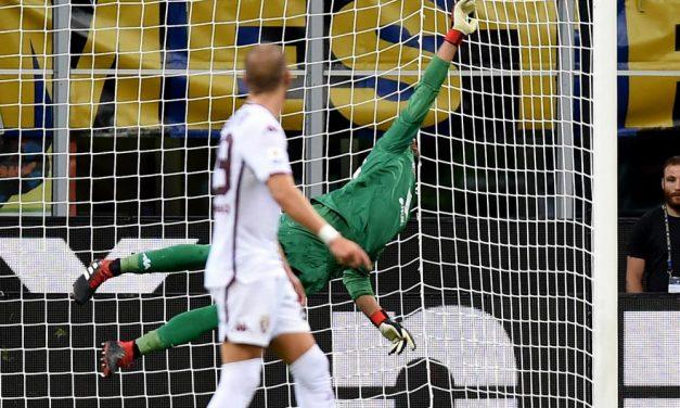 Aos 92 minutos de jogo, Sirigu voa para parar o Inter Milão… com uma defesa incrível! (video)