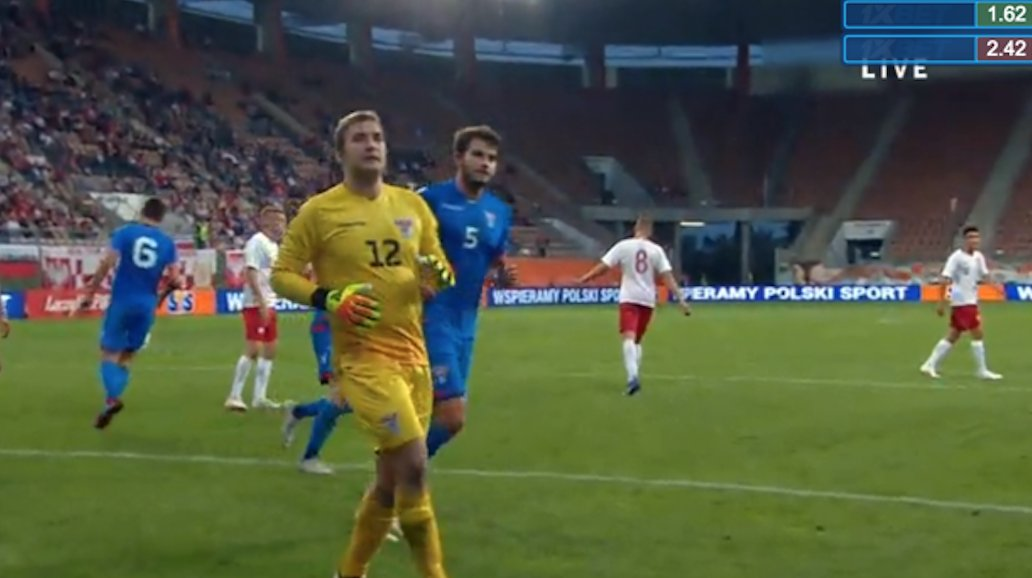 Karstin Hansen, o jovem guardião das Ilhas Faroé que desesperou os sub21 da Polónia! Inacreditável… (VIDEO)
