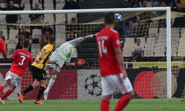 Odysseas, novamente, a brilhar em terras gregas… para garantir a vitória europeia do SL Benfica (VIDEO)