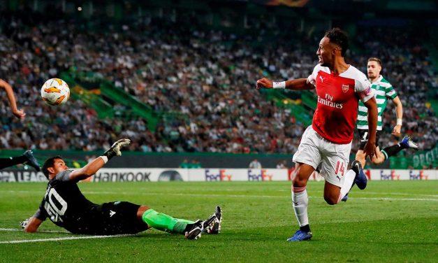 Só Renan Ribeiro quis levar algo do jogo contra o Arsenal. E defendeu até onde deu (VIDEO)