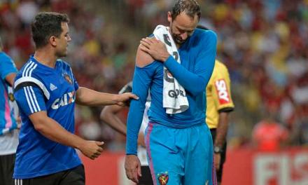 A lesão de Magrão e a sua emoção pelo momento do clube. E não joga mais em 2018… (VIDEO)