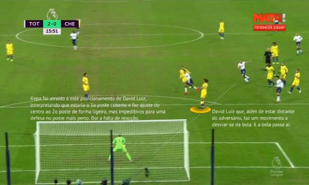 (Análise) Kepa e David Luiz: Descoordenações e (duplas) interpretações entre colegas.