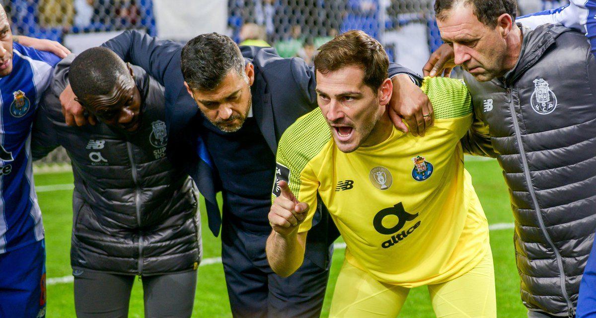 No sítio certo, à hora certa: Iker Casillas para estabilizar rumo à goleada (VIDEO)