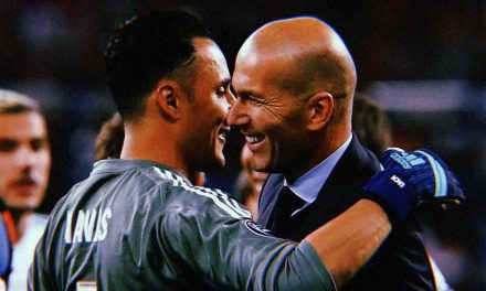 Zidane chegou e já ganhou pelo Real Madrid. Colocou Keylor Navas… e este retribuiu! (VIDEO)