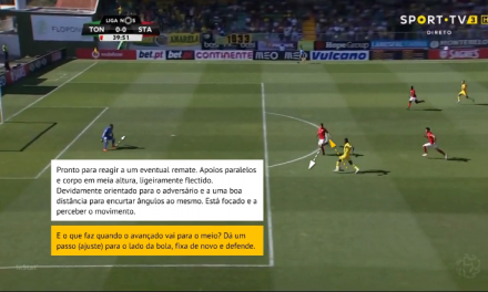 O foco, posicionamento e a importância do reajuste do GR perante a bola – Marco Pereira em Tondela (Análise)
