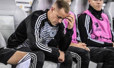 Ter-Stegen de nomeado a melhor do mundo… a banco de Neuer na selecção alemã, numa situação que, confessa, o está a deixar louco
