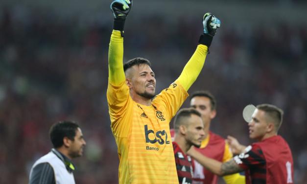 A exibição de Diego Alves que segurou o Flamengo de JJ em Curitiba! (VIDEO)