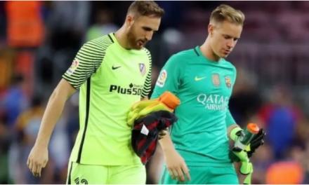 """Estaremos a assistir a uma """"batalha"""" entre Jan Oblak e Ter-Stegen… de defesa em defesa, no topo do futebol mundial? (VIDEO)"""