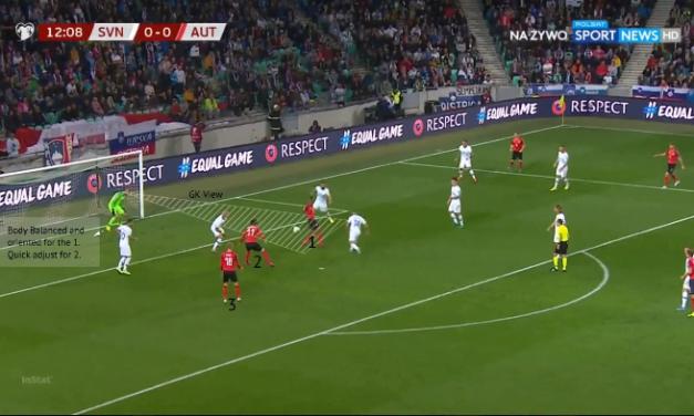 Jan Oblak: Análise a uma defesa incrível contra a Austria!
