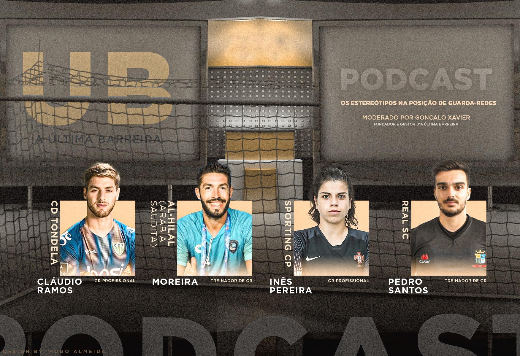 """7# Podcast A Última Barreira (Mesa Redonda) – """"Os estereótipos na posição de guarda-redes"""""""