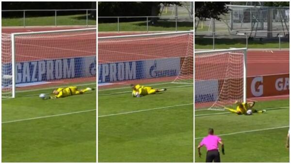 1… 2… 3… foi a conta que Antosch (Salzburg U19) fez na Youth League. 3 (!) Penaltis defendidos seguidos (VIDEO)