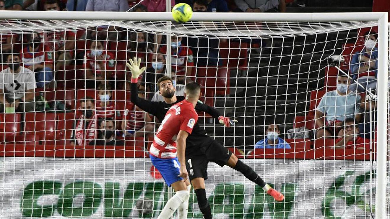 A estreia de Luís Maximiano no Granada (Espanha) com boas indicações apesar da derrota (VIDEO)